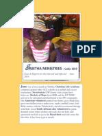 Tabitha June 2014 Newsletter PDF