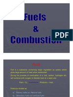 Fuels and combustion