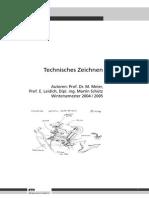 ETH Zürich Technisches Zeichnen