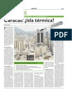 Caracas Isla Termica