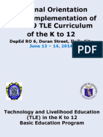 TLE Framework June 2014