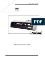 Foison Cutter User Manual