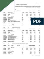Analisis de Costos Unitarios Electricas - Voz y Data