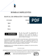 Muscle Pump Manual, Spanish, Version