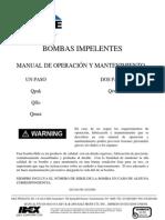 Muscle Pump Manual, Spanish, Version