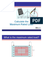 Calculate Rated Load