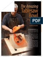 Table Saw Bowl