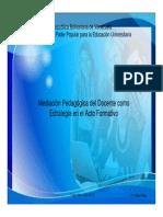 Presentación Mediación Pedagógica del Docente como Estrategia en el Acto Formativo.pdf