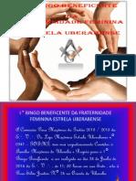 I° BINGO DA FRATERNIDADE UBERABENSE -REALIZADO NO DIA 29 DE JUNHO DE 2014 DA E .`. V .`.