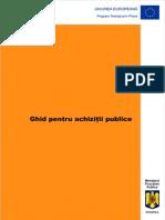 55003294 Ghid Achizitii Publice