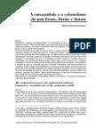 A Universidade e o Colonialismo Denunciado Por Fanon, Freire e Sartre