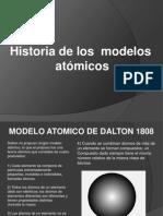 Historia de Los Modelos Atomicos (1)
