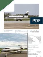2011 Global Express XRS S-N 9354