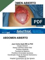 Abdomen Abierto ST 2013