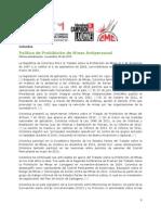 Política de Prohibición de Minas Antipersonal - en Colombia