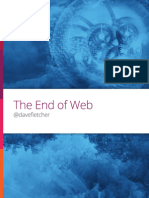 The End of Web