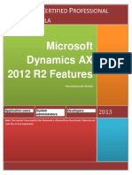 Microsoft Dynamics AX 2012 R2 Features