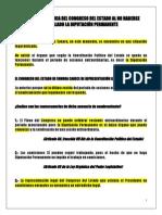 SITUACIÓN JURÍDICA DEL CONGRESO DEL ESTADO AL NO HABERSE INSTALADO LA DIPUTACIÓN PERMANENTE