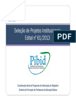 Apresentacao Pibid Edital 61 2013 13set13