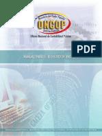 Oncop Manual Para El Registro de Ingresos