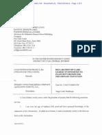 Declaration of Clark Gilbert in opposition to plaintiff's motion for preliminary injunction