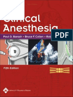 Clinical Anesthesia