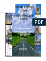 Tanzania Electricity Supply Industry Reform Strategy & Roadmap