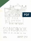 1965 Jan. Free Speech Songbook