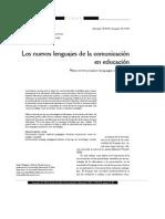 Dialnet-LosNuevosLenguajesDeLaComunicacionEnEducacion-859166