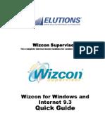 Wizcon 9.3 Quick Guide