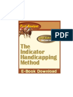 Horse Racing System - Turf Anaylist the Indicator Handicapping Method