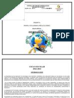 Plan Anual Informatica 2012-2013 1ro.