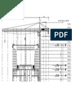 Elevation Tower Crane-model
