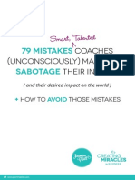79 Mistakes Coaches Make