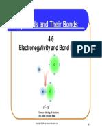 electronegativity and bond polarity