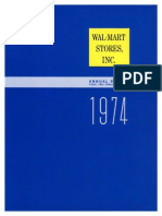 1974 Annual Report for Walmart Stores Inc1