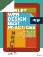 Tablet Web Design Guide Mobify