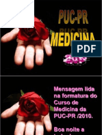 Discurso Dos Formando de Medicina Da PUC
