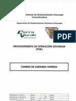 09 CMM-G010_POE Cambio de Zaranda Humeda