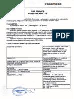 Fisa Tehnica Mortar Parafoc-F