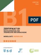 zertifikat deutsch b1 modellsatz 04 prueferblaetter