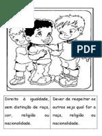 Direitos e Deveres Das Crianças