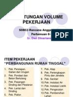 Perhitungan Praktis Volume Pekerjaan Bangunan