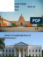 NEP Presentation Final Cut - Presidential form of Govt