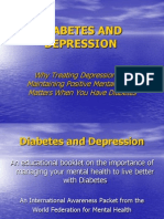 Diabetes and Depression Powerpoint