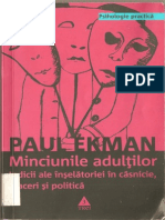 Ekman Paul, Minciunile Adultilor