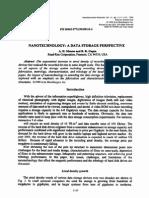 Nanotechnology DataStorage
