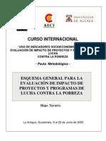 Curso Internacional de Indicadores Socieconómicos Navarro