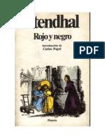 Analisis Literario Rojo y Negro