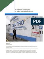 30-06-2014 Periódico Digital.mx - Puebla privilegió licitación abierta para verificentros por sobre la asignación directa.